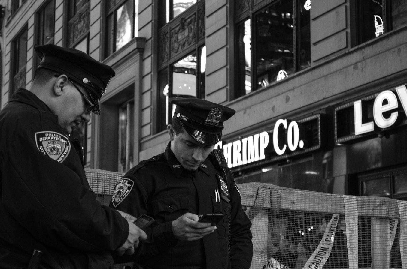police reconnaissance faciale
