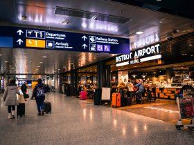 reconnaissance faciale aéroport