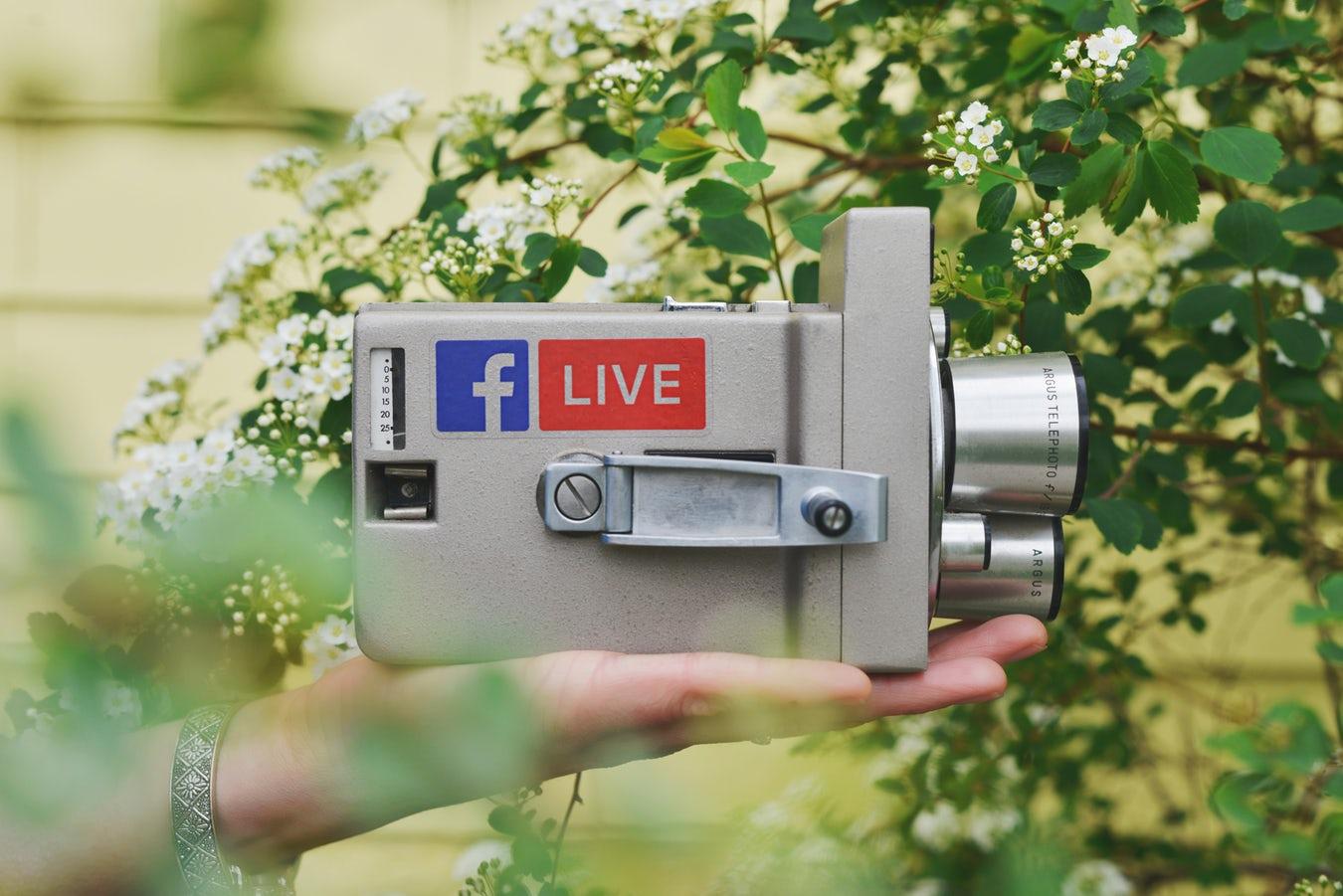 Video live Facebook
